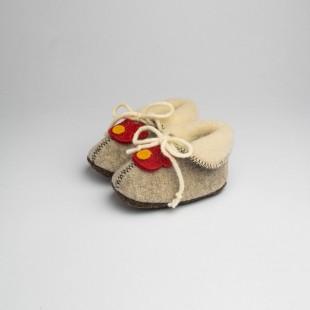 Pantofole Löwenweiss in...