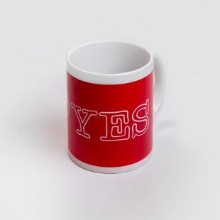 Tazza I Love Yes rossa