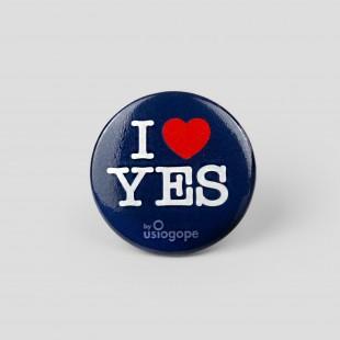 Spilla I Love Yes