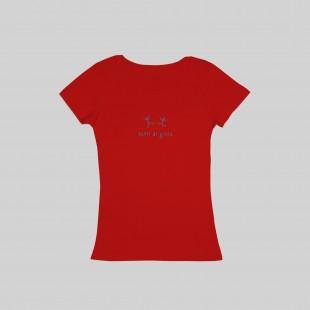 T-shirt fatti di gioia donna