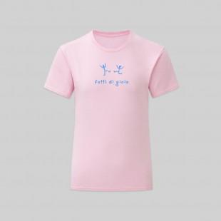 T-shirt Fatti di gioia bambina